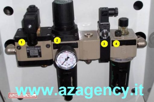 Pressostato + manometro N.3 (Detexomat Speciale)